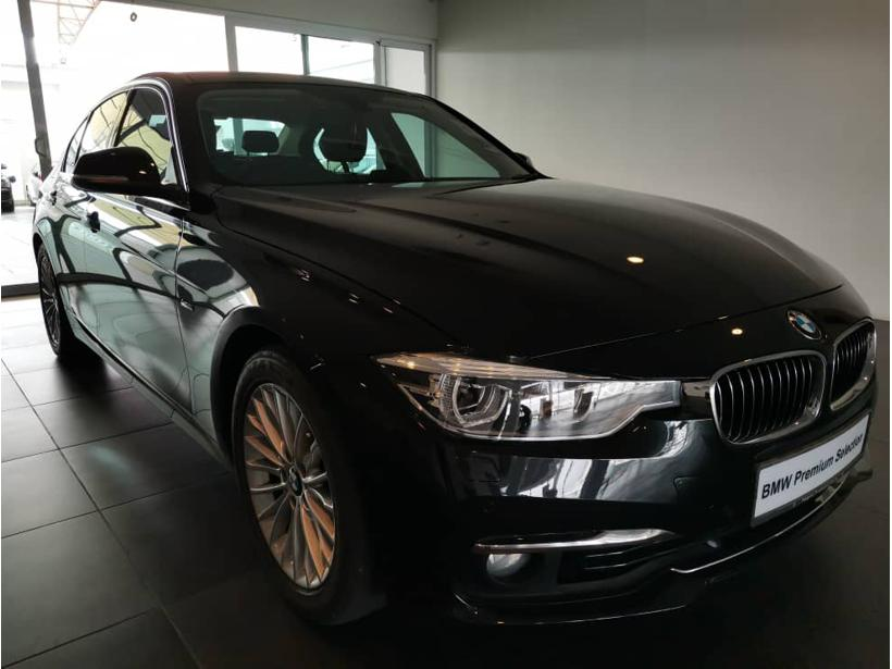BMW 318i F30 Sedan 4dr Luxury SA 8sp RWD 1.5DiT