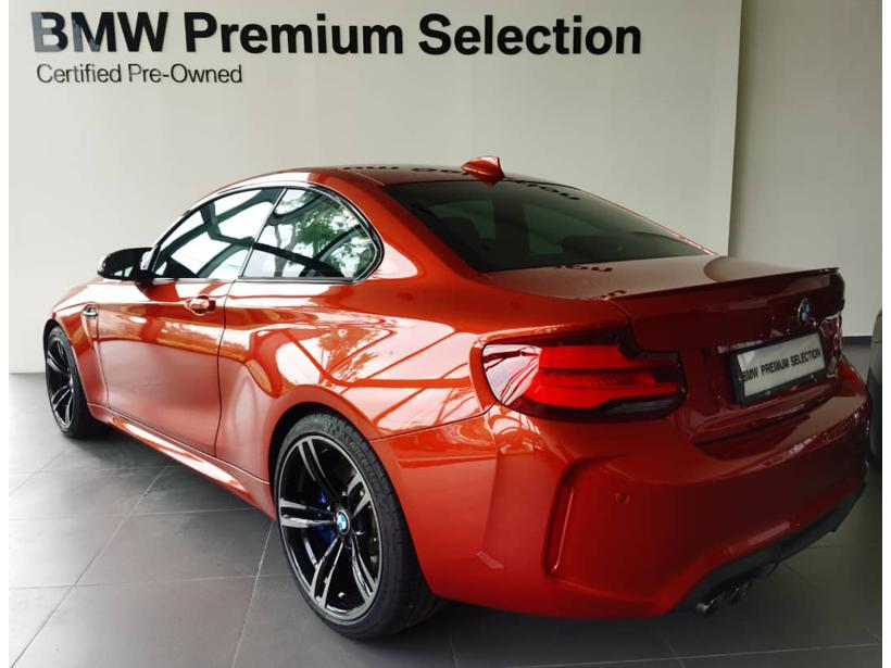BMW M2 F87 Coupe 2dr Competition Sports Automati 7sp RWD 3.0DiTT